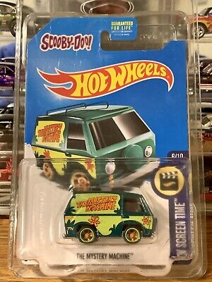 Hot Wheels Super Treasure Hunt Mystery Machine - WITH PROTECTOR