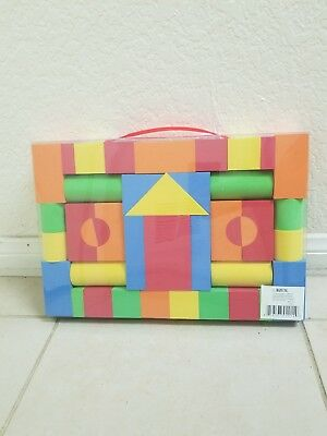 41Pcs Educational Eva Foam Building Blocks Bricks Toy For Kids - Foam Blocks For Kids