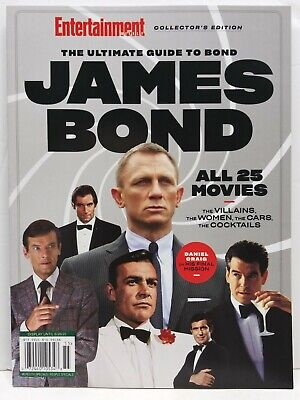 Entertainment Collector's Edition The Ultimate Guide To James Bond Magazine Book