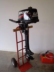 Mercury 5HP as new condition Kingston Kingborough Area Preview