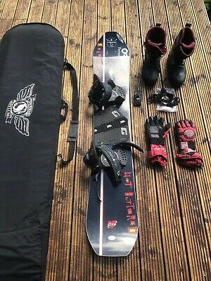 K2 Snowboard + Boots, Bindings, Bag and Gloves