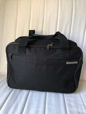 Samsonite weekender Shoulder Carry On Tote Bag  Luggage Travel Vintage