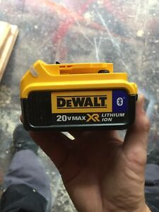 Dewalt 4.0 bluetooth battery