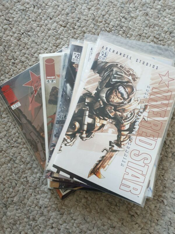 The Red Star Entire Collection Comics