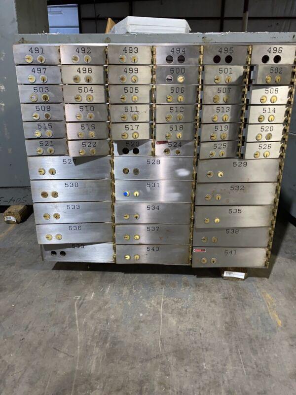 Mosler Safe Co. 50 Peice Lock Box