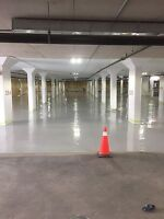 Shotblasting , epoxy , waterproofing floor coatings