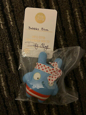 Dolly Oblong DesignerCon 2019 Exclusive Bubbles Blue Limited Edition Resin Toy
