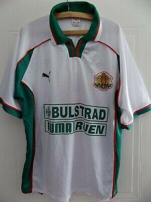 1998 World Cup Original Puma Bulgaria Football Soccer Shirt Top Mens Stoichkov image