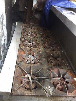 Used Commercial Restaurant Equipment 10 Burner Double Oven Plus More