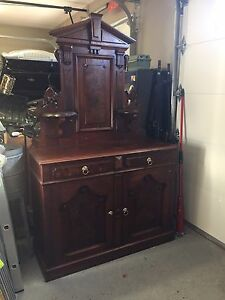 Sideboard circa 1895 for sale.