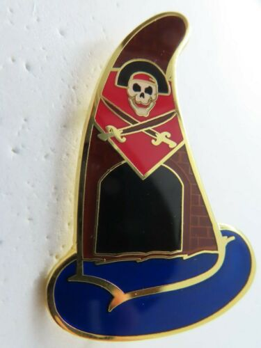 Disney Pin WDI Sorcerer Hat Mystery Jolly Roger Chaser LE 150 #84673