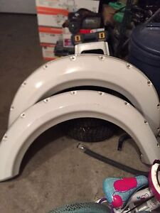 F150 Drivers side fender flares