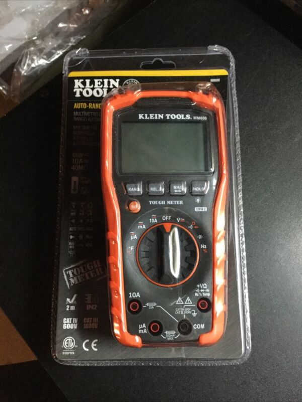 Klein Tools MM600 1000V Auto Ranging Digital Multimeter Brand New Sealed