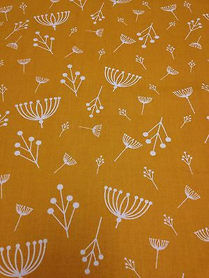 RPD330 Charley Harper Flower Seed Organic Cotton Fabric Quilt Fabric Charles