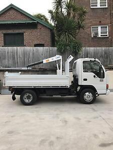 2005 Isuzu NPR200 - Tipper Truck - Heavy Duty Crane - Low KM's Sydney City Inner Sydney Preview
