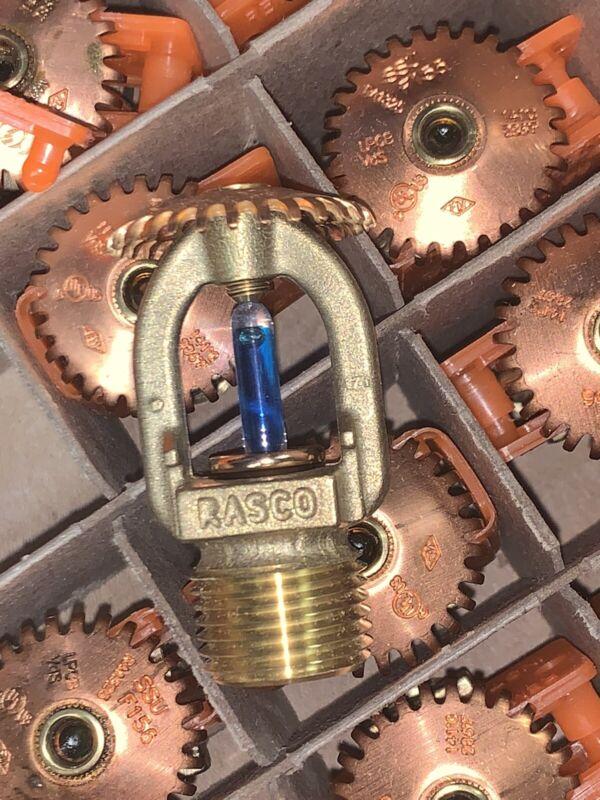 "Reliable F156 Fire Sprinkler Head Brass Upright Bulb-SR 1/2"" K5.6 (Case 100pc)"