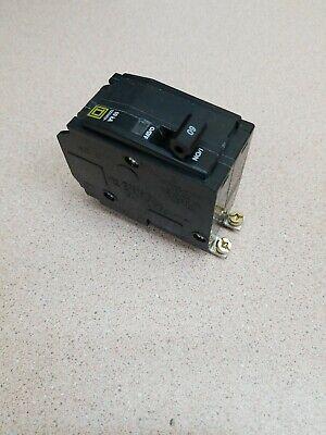 New Square D Qob260 Circuit Breaker 60 Amp 2 Pole Qob Bolt On Hacr Series Yellow
