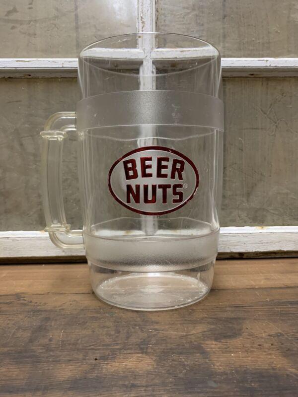 Vintage Beer Nuts Pitcher Giant Mug Old Bar Man Cave Decor Advertising