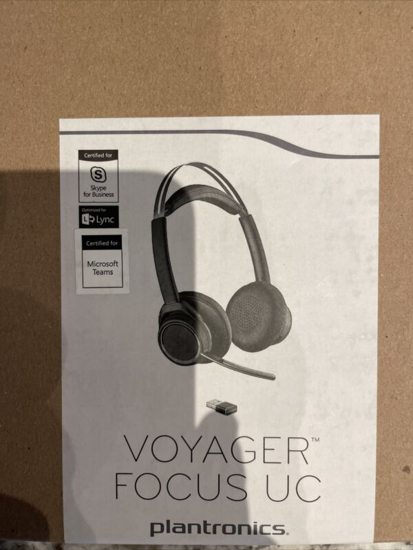 Plantronics Voyager Focus UC B825-M Stereo Bluetooth Headset - Retail Packaging