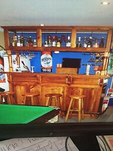 Home Bar Cabinet Wattle Grove Liverpool Area Preview