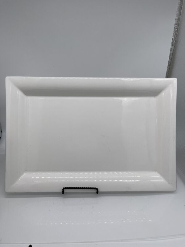 Williams-Sonoma  White Extra Large Serving Tray-Platter