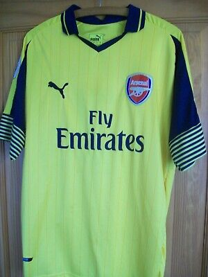 ARSENAL * FOOTBALL SHIRT  * L  Large  * Away * Puma  *  ALEXIS 7