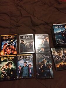 Complete set of Harry Potter