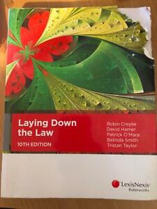 Laying Down The Law: 10th Ed. Textbook