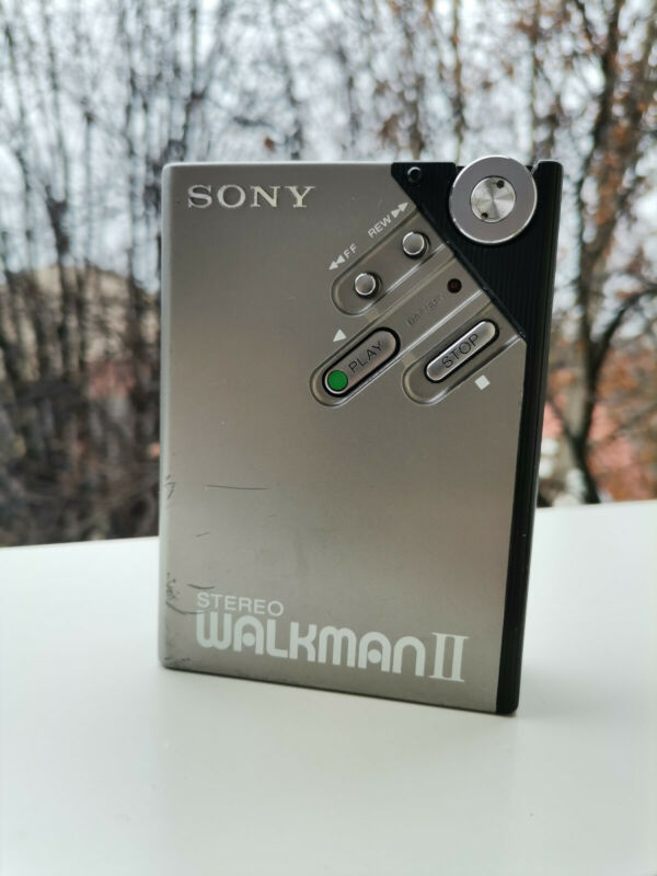 Rare Sony WM-2 Walkman Japan