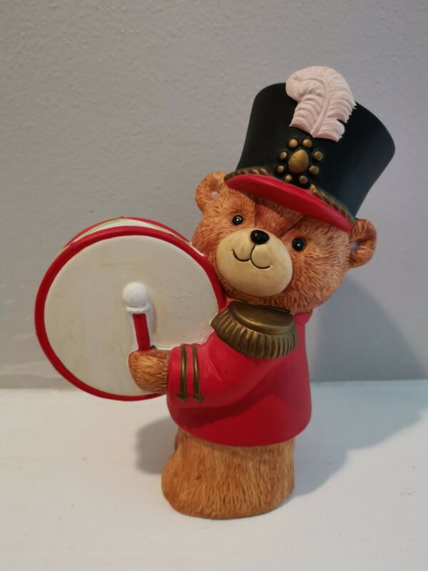Vintage Lucy and Me Drummer BEAR  ~ Enesco