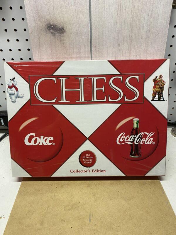 Coke vs Coca Cola Chess Set Collectors Edition 2002 NEW Sealed