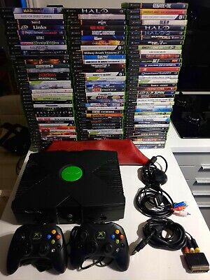 Microsoft xbox console and games