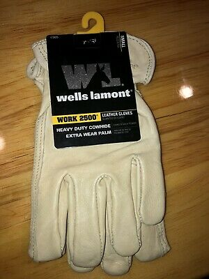 Wells Lamont 1130s Unlined Cowhide Full Leather Driver Glove Small