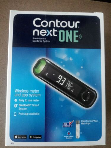 Contour Next One Blood Glucose Meter Smart App Bluetooth Sys