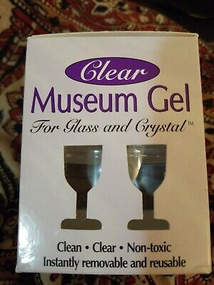 NEW Trevco Clear Museum Gel Sealed Package | Secure Glass & Crystal Clear Museum Gel