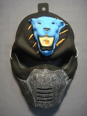 BLUE TIGER NINJA HALLOWEEN MASK PVC - Halloween Tiger Mask