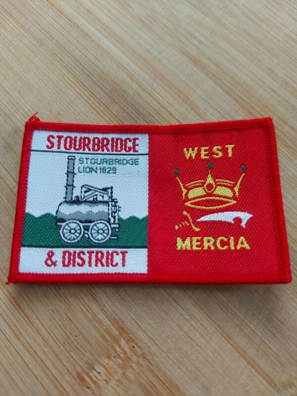 UK Scouting District Badge Stourbridge West Mercia
