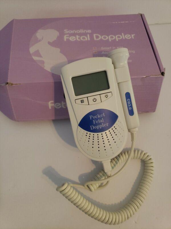 Sonoline Pocket Fetal Doppler Sonoline B Facelake