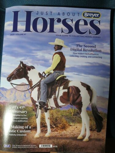 Breyer  2020 JAH ( Just About Horses ) Magazine , NEW