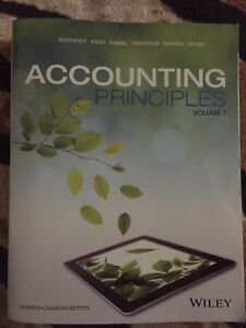 Accounting Principles- Volume 1.  7th Edition
