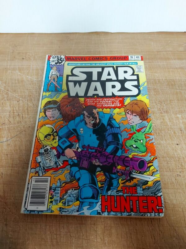 Star Wars #16 First Appearance The Hunter Newsstand Variant