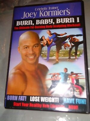 DVD JOEY KORMIER'S BURN BABY BURN I Fat Burning Body Sculpting Work Out FITNESS