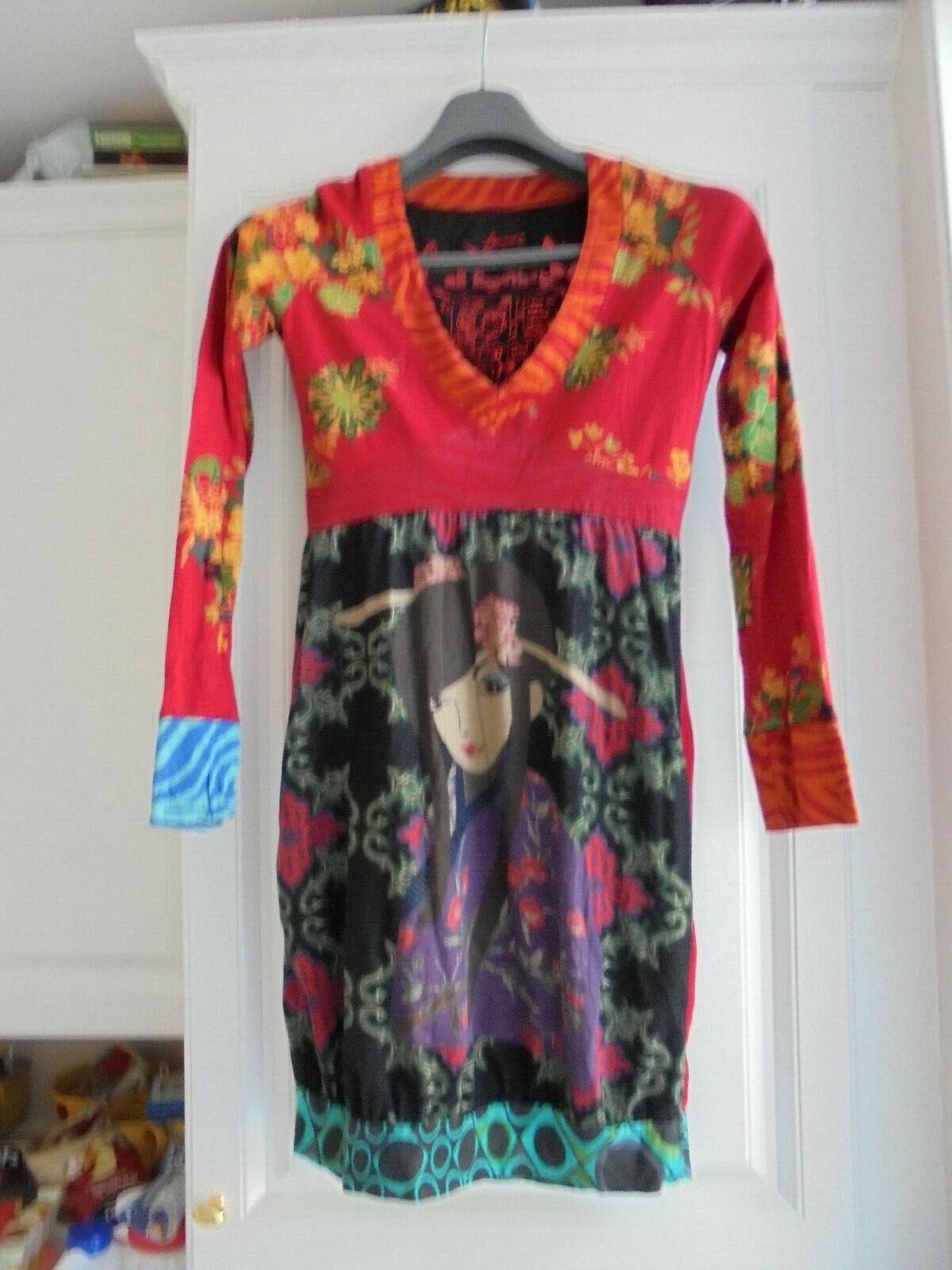 Belle robe de marque desigual femme taille 38 m 2 neuve