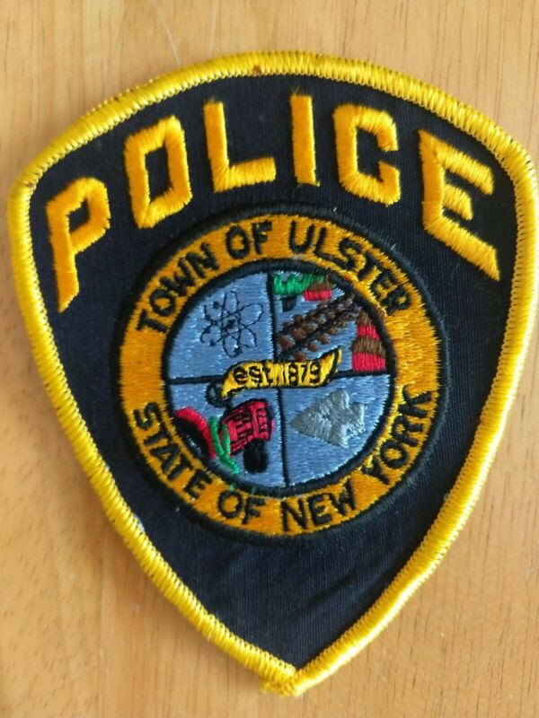 Town of Ulster New York Police Patch - New