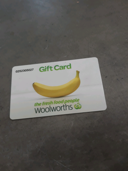 For sale woolworths gift card with 160 balance on it for 1 for sale woolworths gift card with 160 balance on it for 1 negle Image collections
