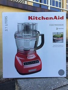KITCHENAID Food Processor (Silver) KFP1333*BRAND NEW* Springfield Gosford Area Preview