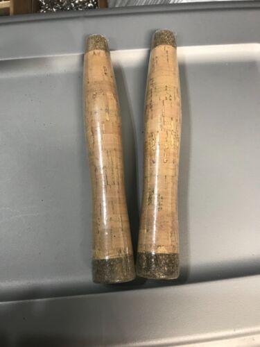 Fly rod cork handle, half wells.
