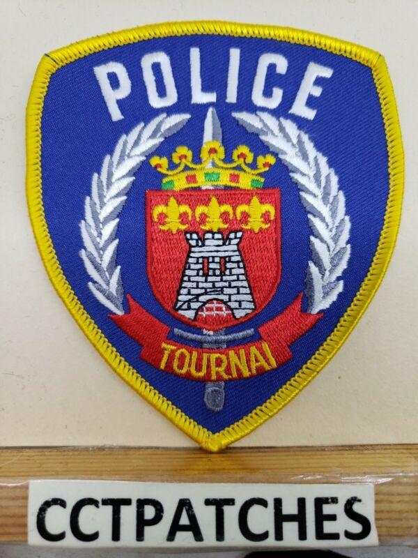 TOURNAI BELGIUM BELGIAN POLICE SHOULDER PATCH