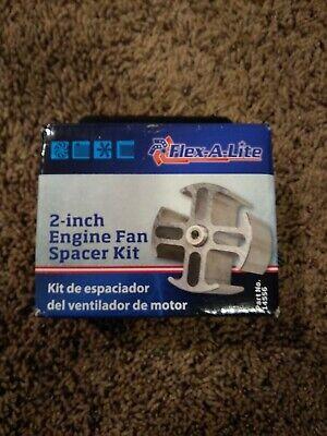 Engine Cooling Fan Spacer Kit-XR-7 Flex-A-Lite 14548