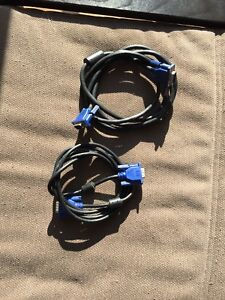 Selling computer monitor cables.